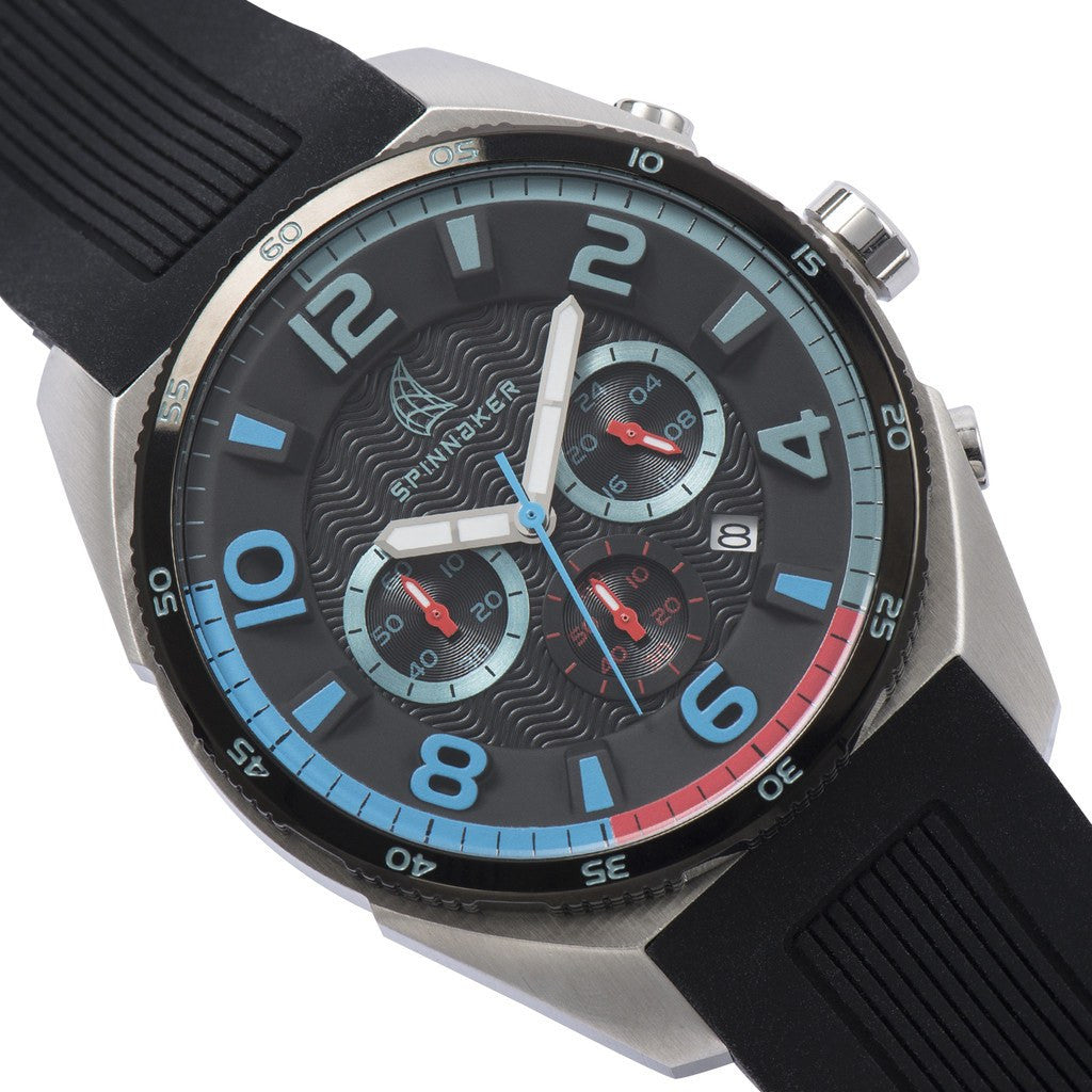 Spinnaker Reef Core SP-5022-0A Watch | Black