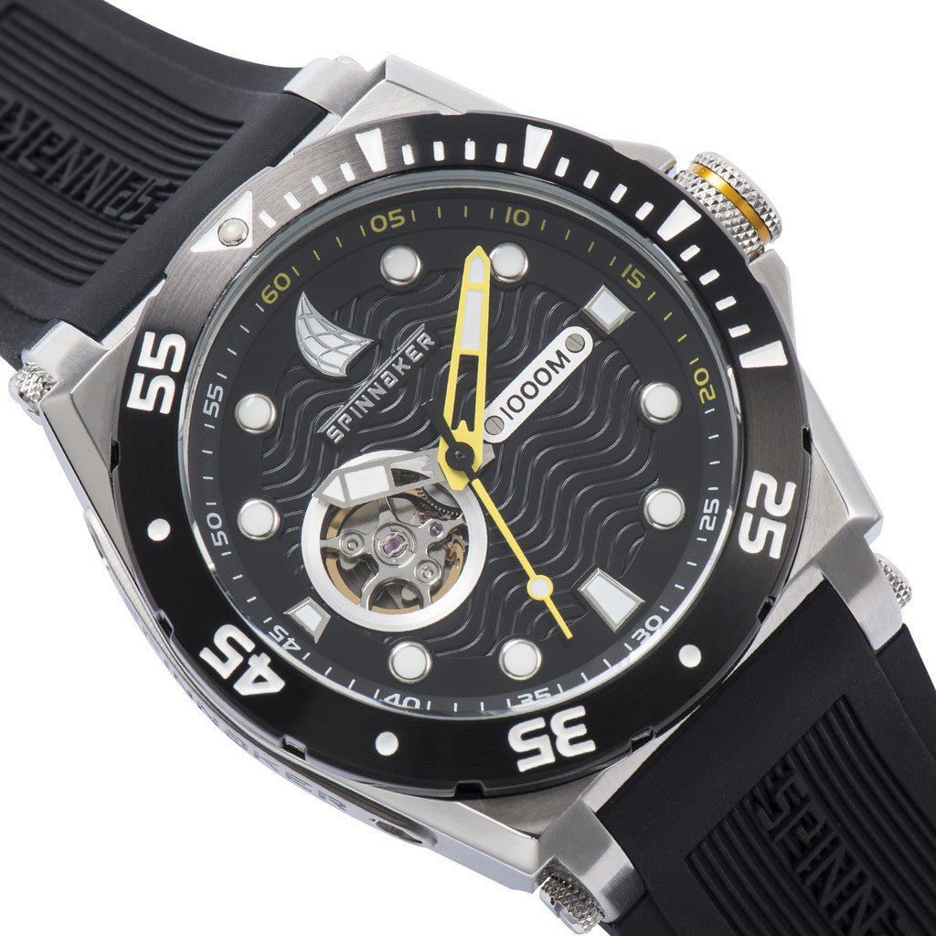 Spinnaker Overboard Pro-Diver SP-5023-09 Watch | Black