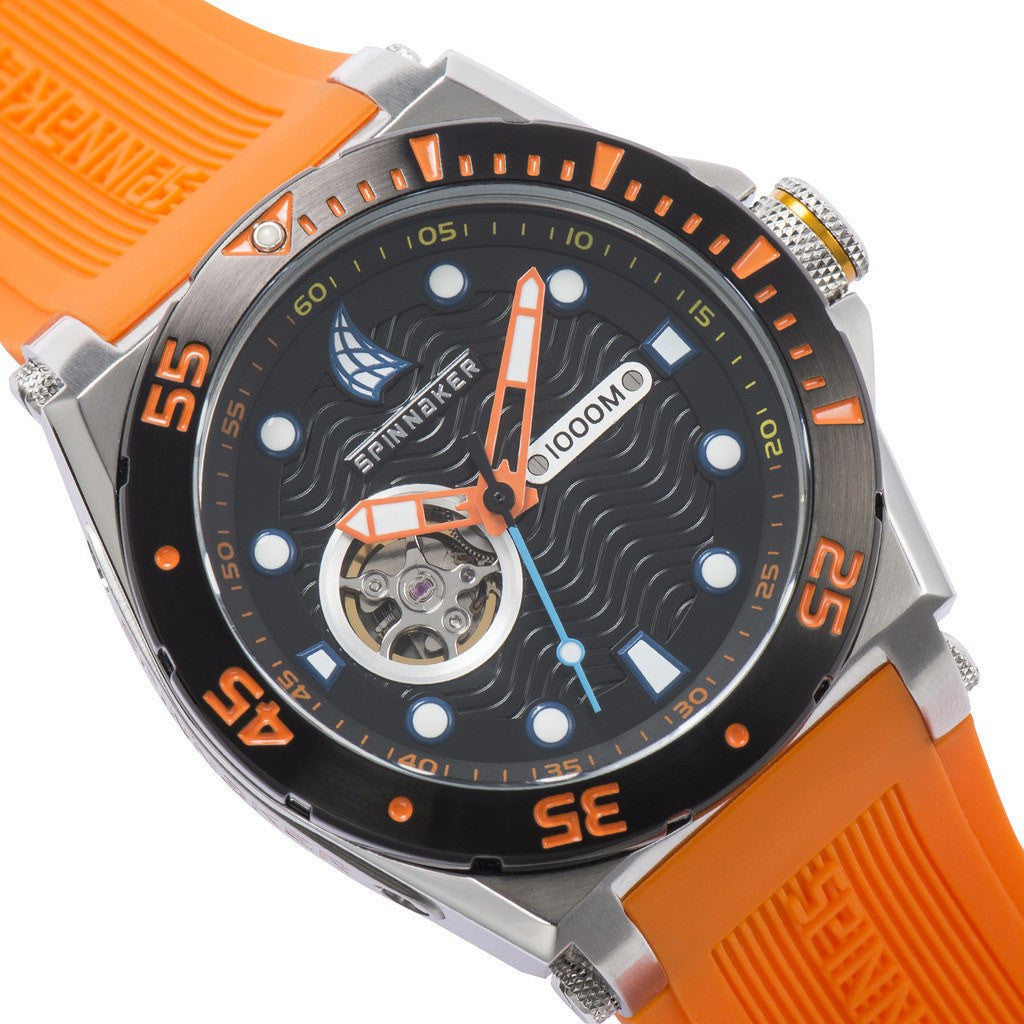 Spinnaker Overboard Pro-Diver SP-5023-0A Watch | Black