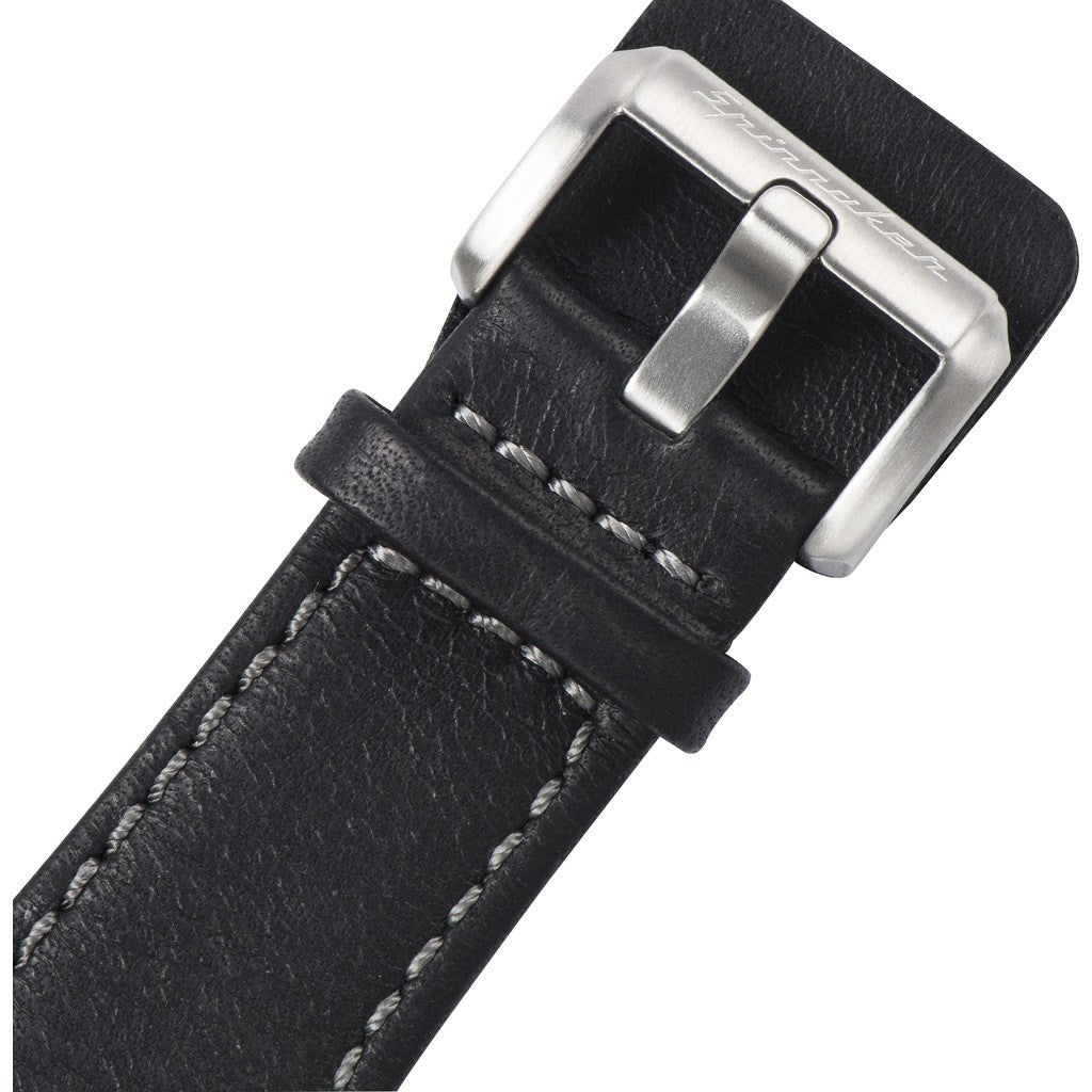 Spinnaker Hass Vintage SP-5032-01 Watch | Black