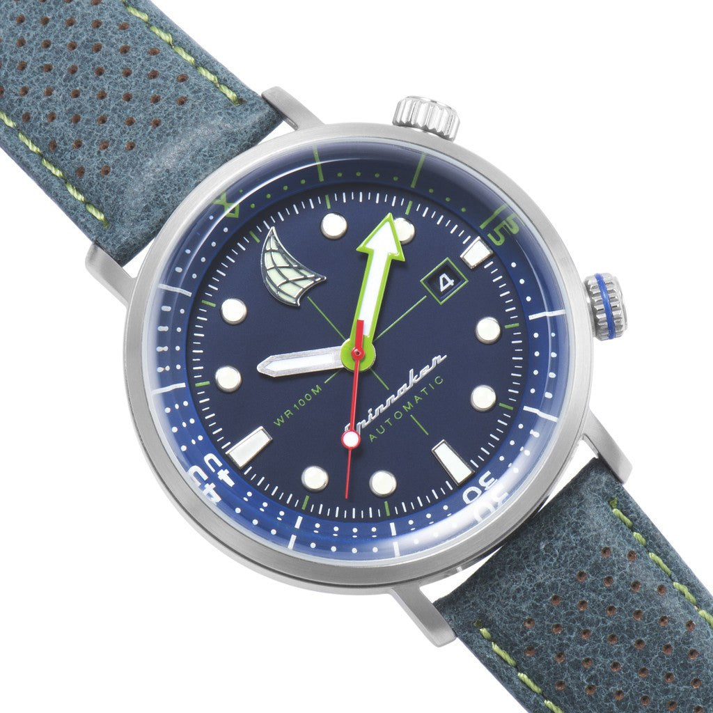 Spinnaker Tavolara Vintage SP-5037-02 Watch | Blue