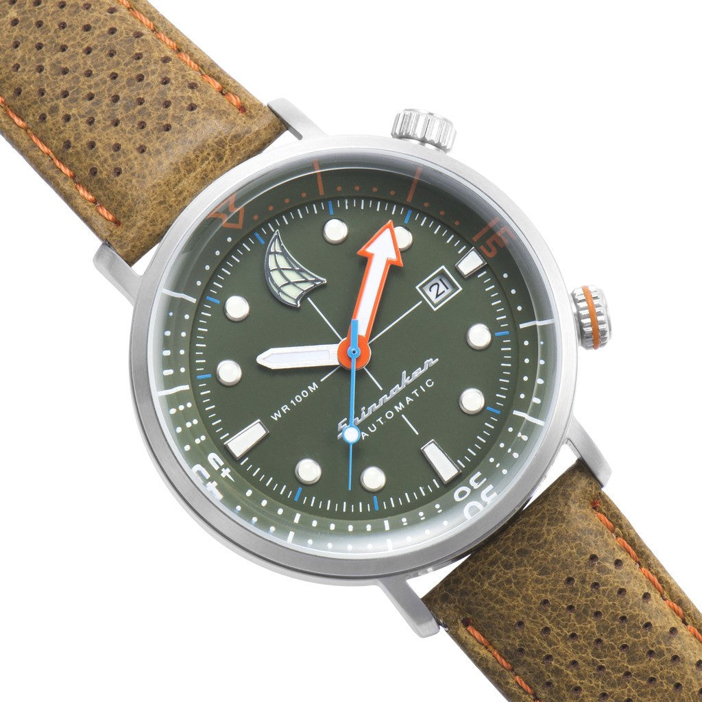 Spinnaker Tavolara Vintage SP-5037-03 Watch | Green