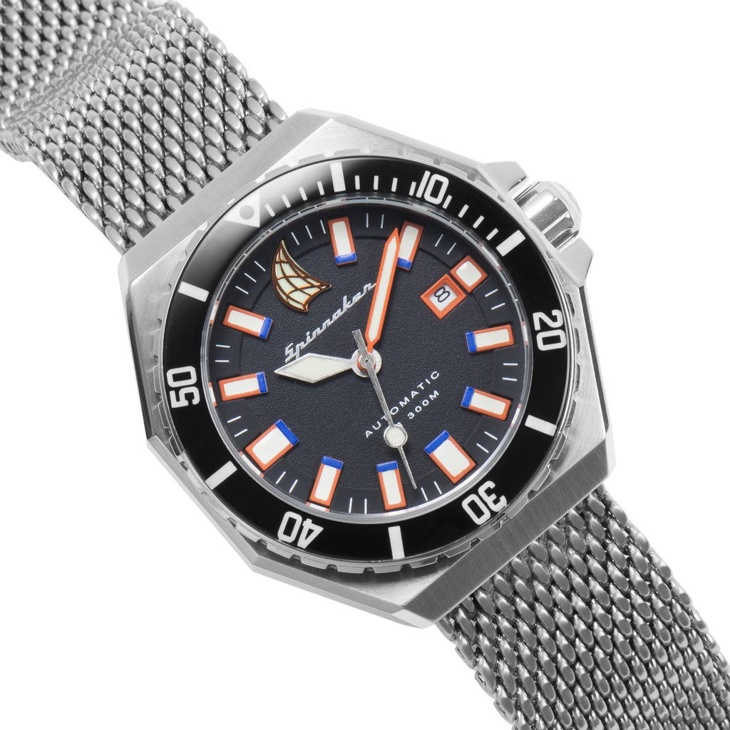 Spinnaker Dumas Vintage Diver SP-5038-01 Watch | Blue