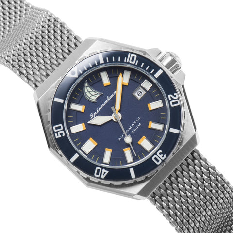 Spinnaker Dumas Vintage Diver SP-5038-02 Watch | Blue