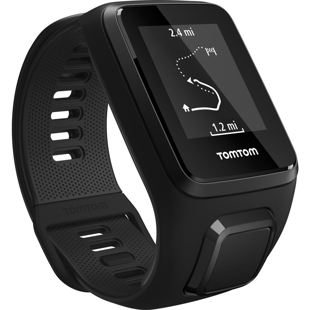 TomTom Spark 3 Music GPS Fitness Watch & Headphone Bundle | Black