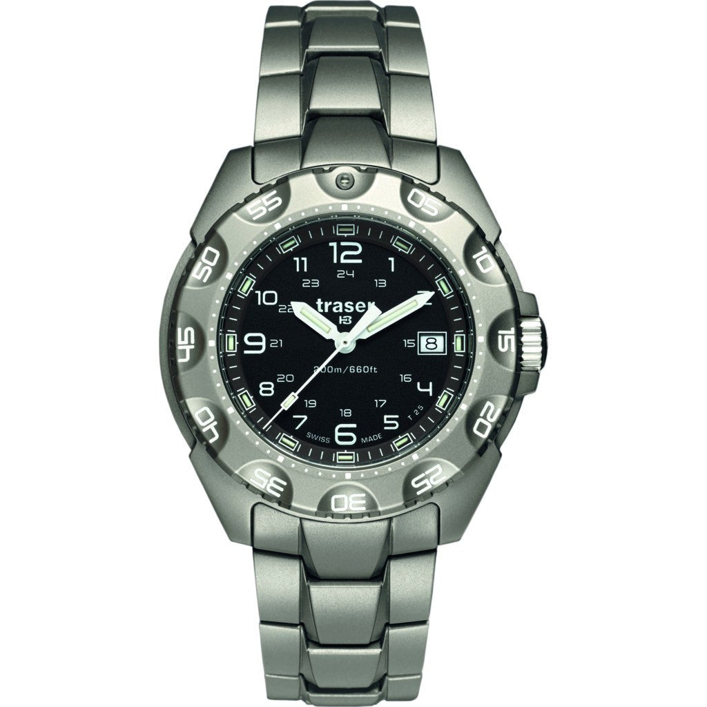 traser H3 Special Force 100 Watch | Titanium Strap 105485