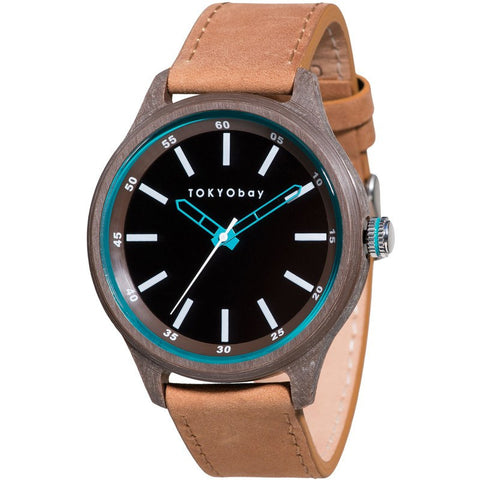 TOKYObay Specs Unisex Watch | Brown