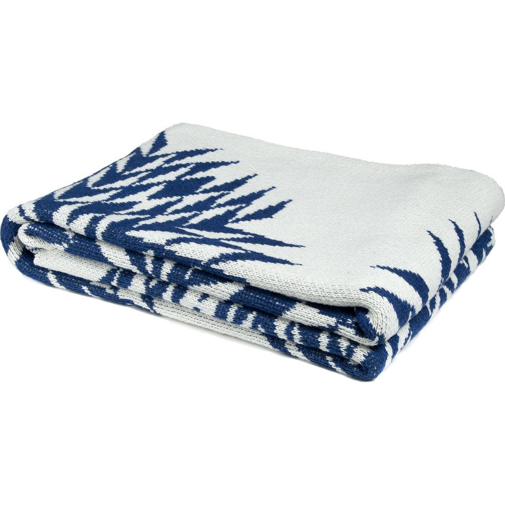 in2green Spikes Eco Throw | Cobalt BL01SPK2