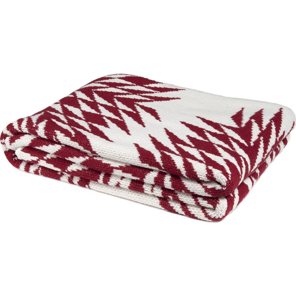 in2green Spikes Eco Throw | Pomegranate BL01SPK1