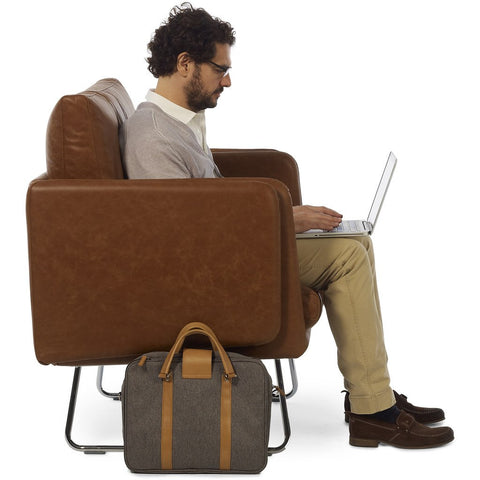 RS Barcelona Spongy Leather Armchair | Brown