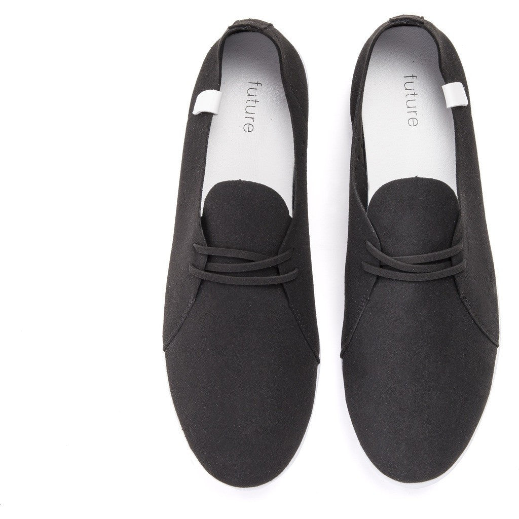 House of Future Sprint Slip-On Micro-Suede Shoes | Black Size 42 1012A1001