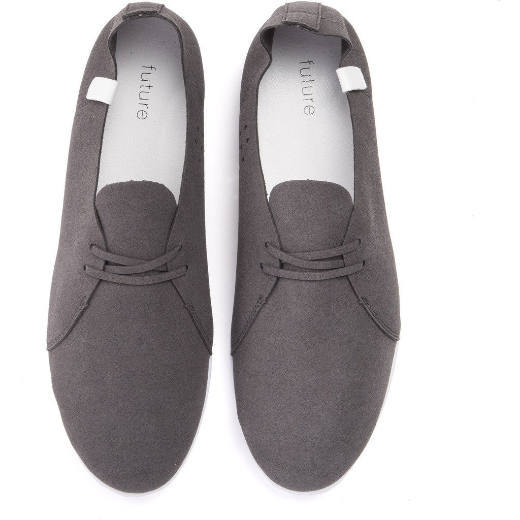 House of Future Sprint Slip-On Micro-Suede Shoes | Slate Grey Size 42 1012A1002