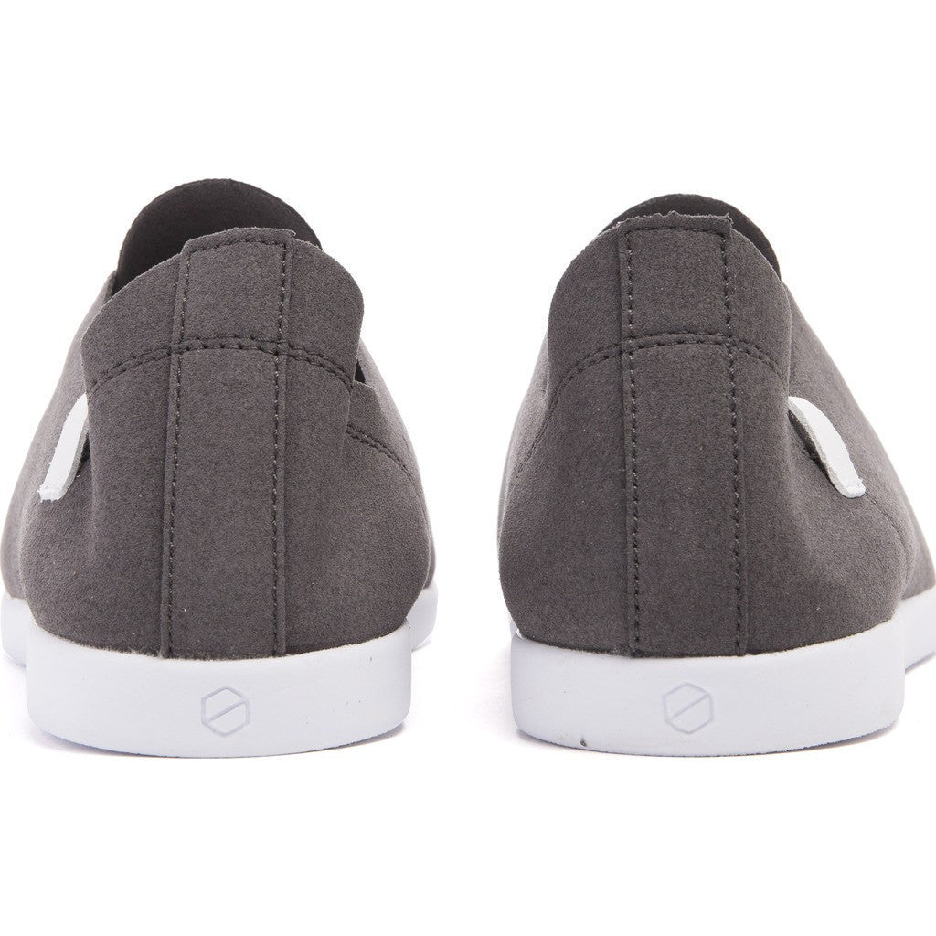House of Future Sprint Slip-On Micro-Suede Shoes | Slate Grey Size 43 1012A1002