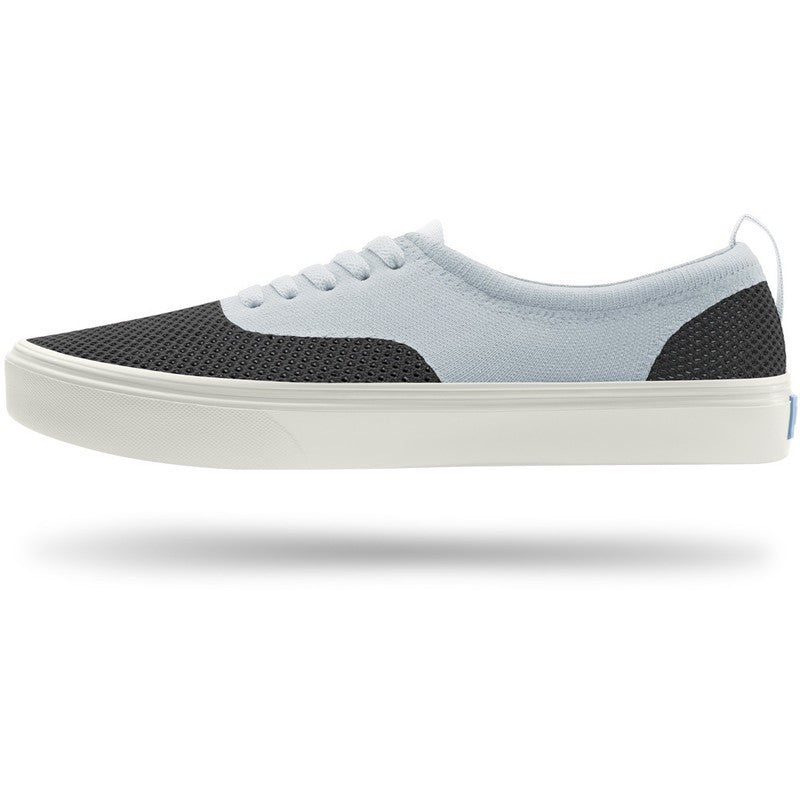 People Footwear Mens Stanley Knit Shoes | Really Black/Polar Grey/Picket White