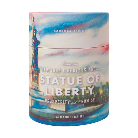 Ethics Supply Co. Organic Scented Candle | Libery Island's Statue of Liberty NPCA-09