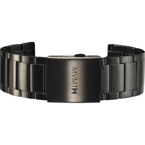 MVMT Men's 24mm Classic Steel Strap | Black