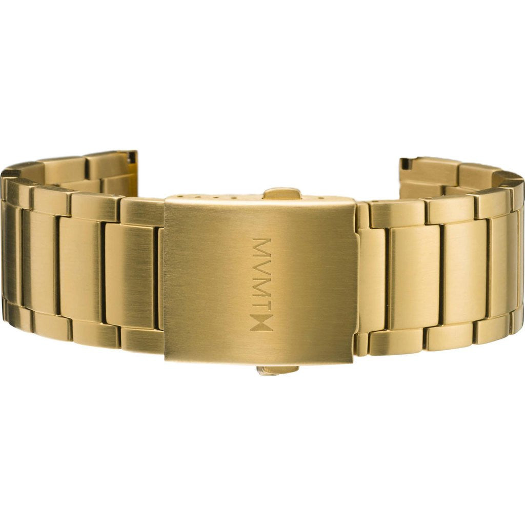 MVMT Men's 24mm Classic Steel Strap | Gold