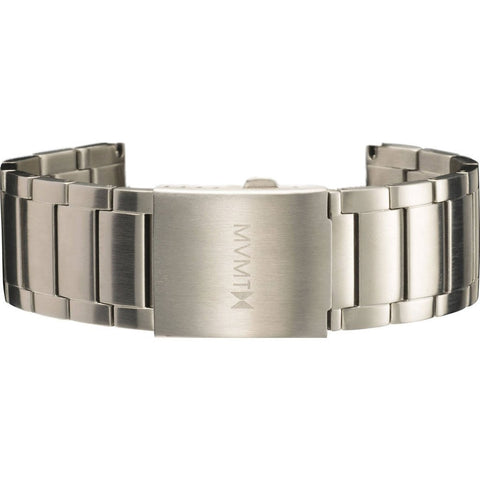 MVMT Men's 24mm Classic Steel Strap | Stainless