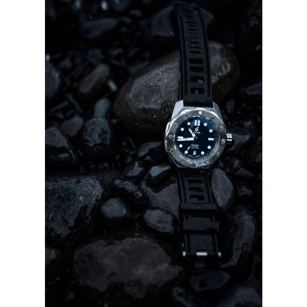 BOLDR Odyssey Automatic Dive Watch | Steel Blue