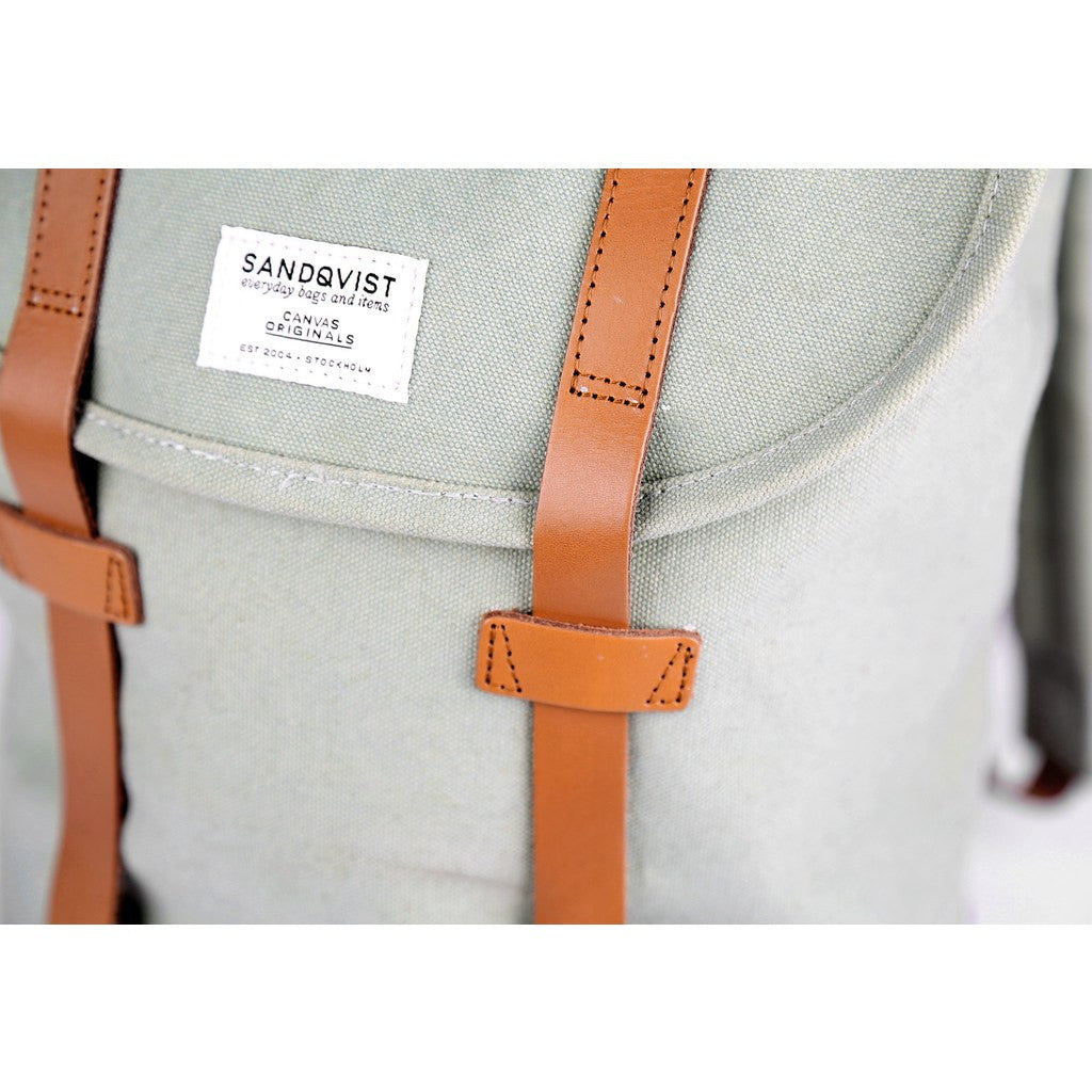Sandqvist Stig Backpack | Sage Green SQA544