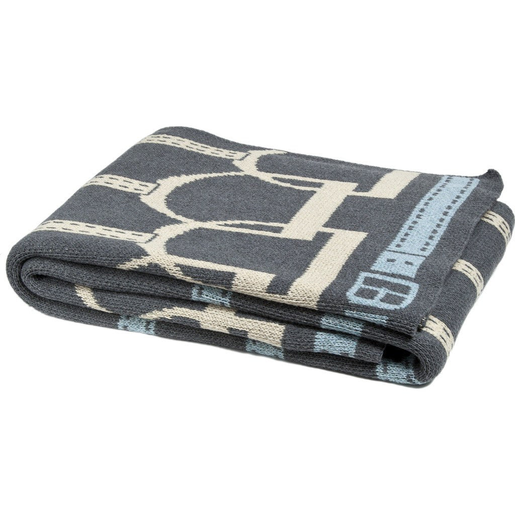 in2green Stirrup Eco Throw | Smoke/Flax/Pond BL01SU4