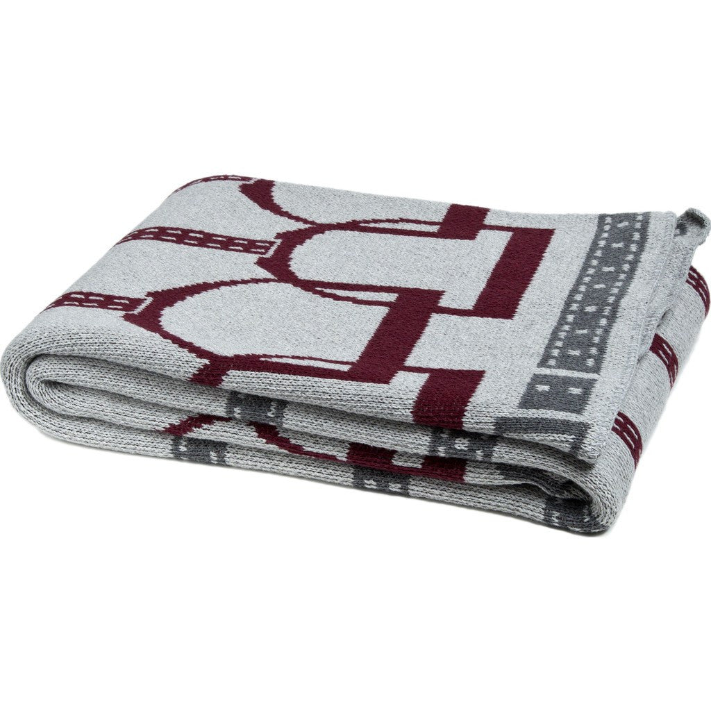in2green Stirrup Eco Throw | Alum/Burgundy/Smoke BL01SU3