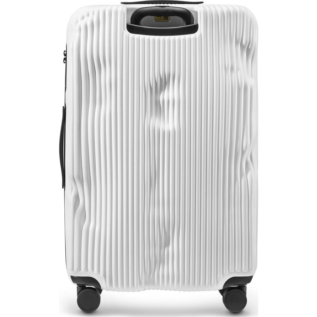 Crash Baggage Stripe Trolley Suitcase | White --Large Cb153-17