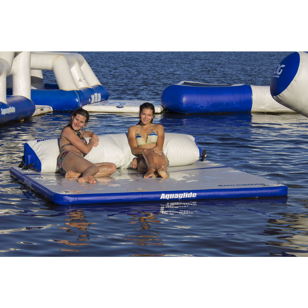 Aquaglide Sundeck Interconnecting Raft | Blue/Gray 58-5215140