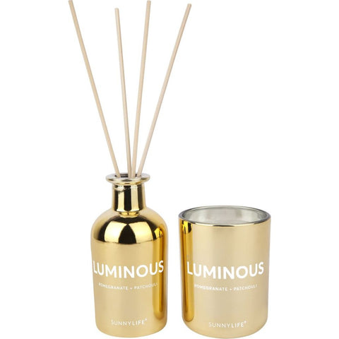 Sunnylife Scented Candle & Diffuser Set | Luminous