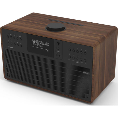 REVO Super CD Bluetooth Digital Radio | Walnut/Black