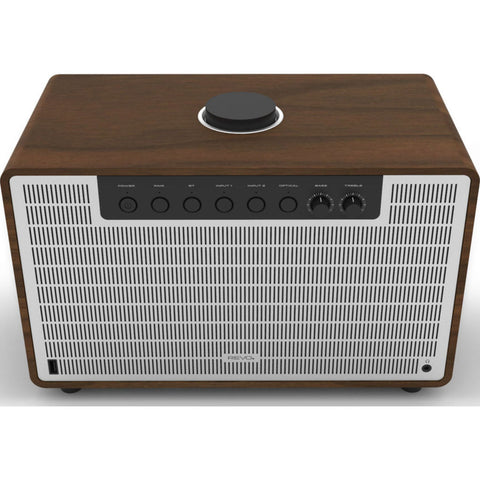 REVO SuperTone Bluetooth Wireless Speaker | Walnut/Silver