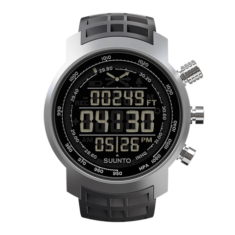 Suunto Elementum Terra Watch | Black Rubber