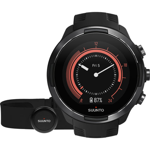 Suunto 9 G1 GPS Watch + HR Belt | Baro Black