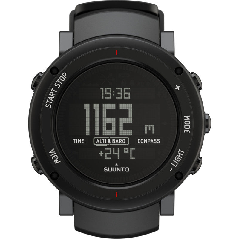 Suunto Core Multi-Function Outdoor Watch | Deep Black SS018734000
