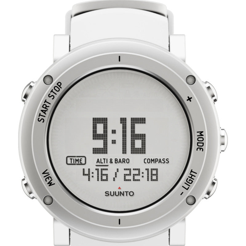Suunto Core Multi-Function Outdoor Watch | Pure White SS018735000