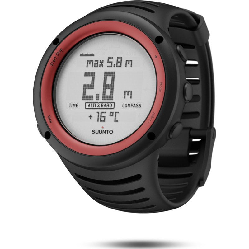 Suunto Core Multi-Function Outdoor Watch | Lava Red SS016788000