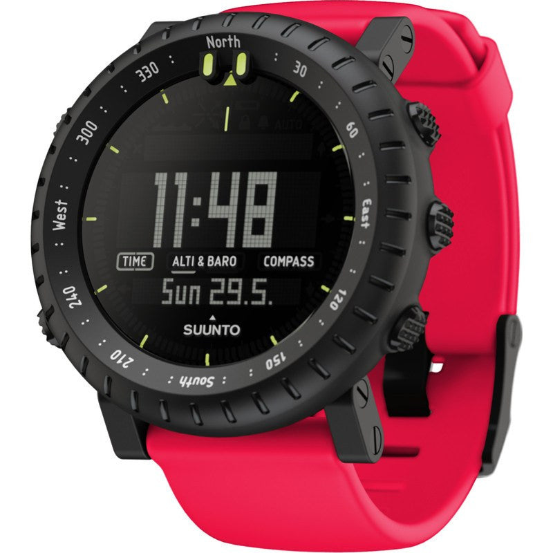 Suunto Core Multi-Function Outdoor Watch | Red Crush SS018810000