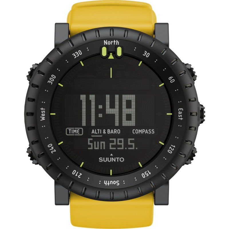 Suunto Core Multi-Function Outdoor Watch | Yellow Crush SS018809000