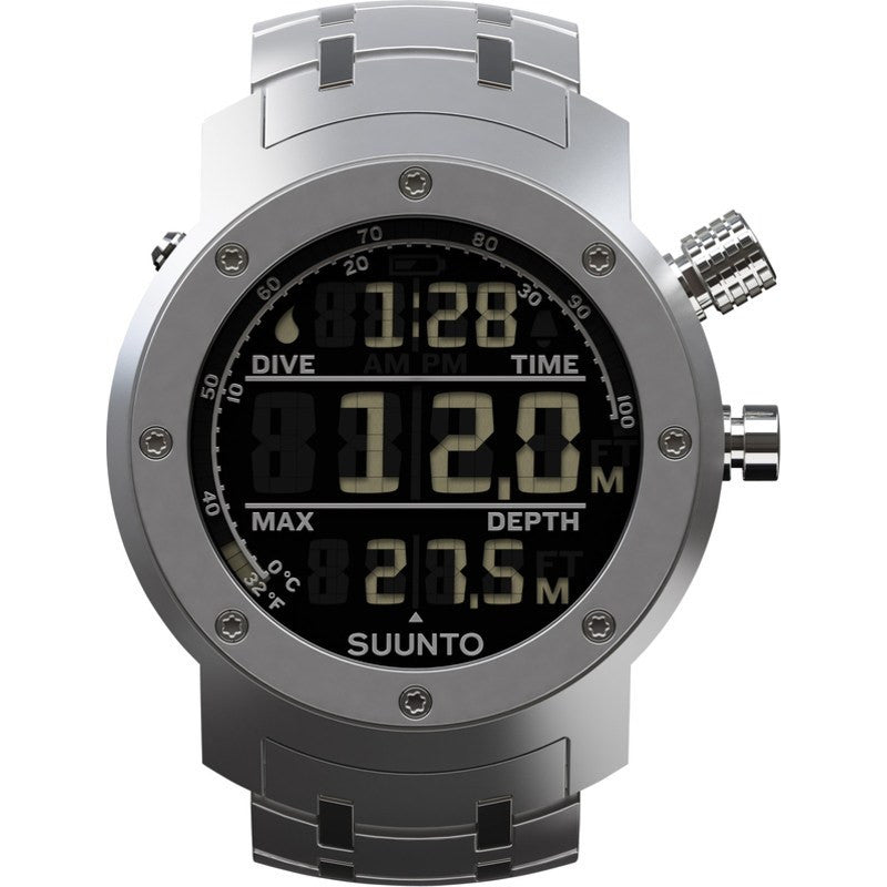 Suunto Elementum Aqua Watch | Steel Blue SS014527000