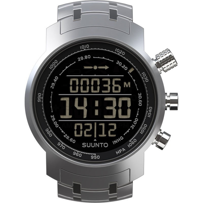 Suunto Elementum Terra Watch | Steel/Negative Face