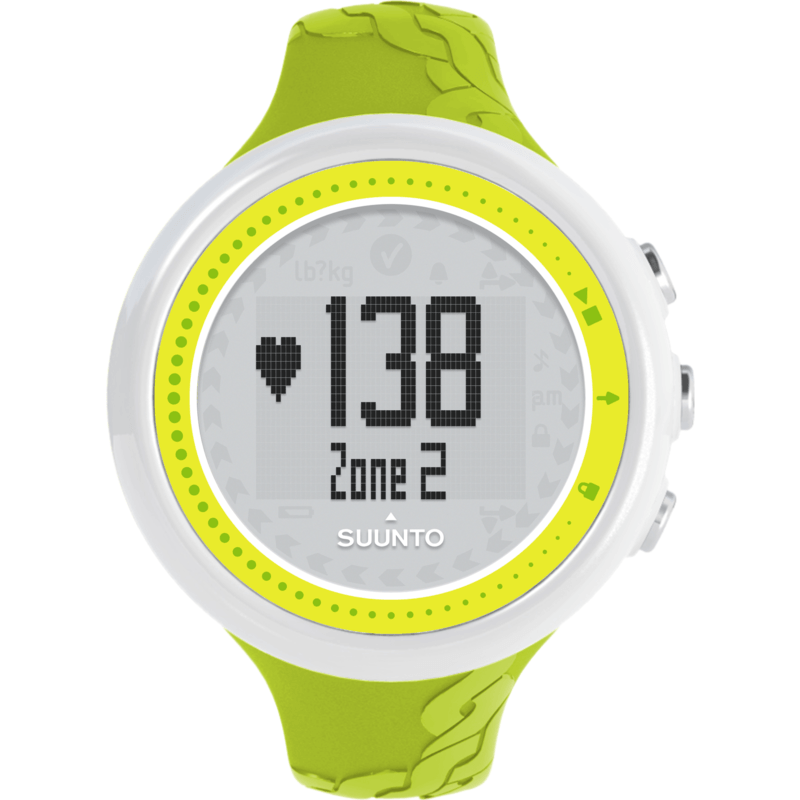 Suunto M2 Women's HRM Training Watch | Lime SS020648000
