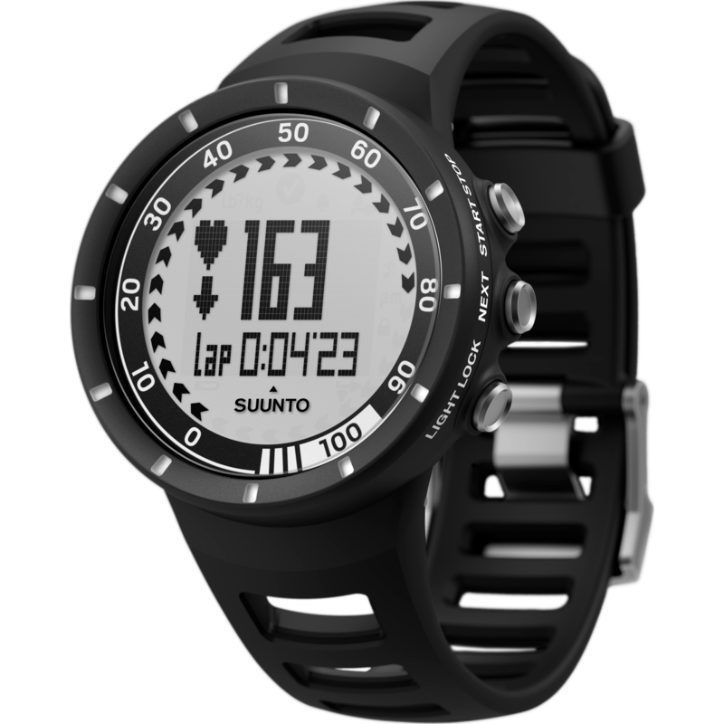 Suunto Quest GPS Pack HRM Training Watch | Black SS018715000