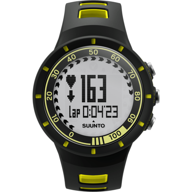 Suunto Quest GPS Pack HRM Training Watch | Yellow SS018716000