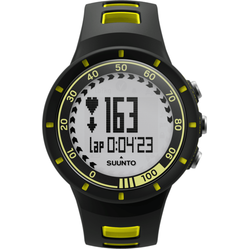 Suunto Quest HRM Training Watch | Yellow SS019158000
