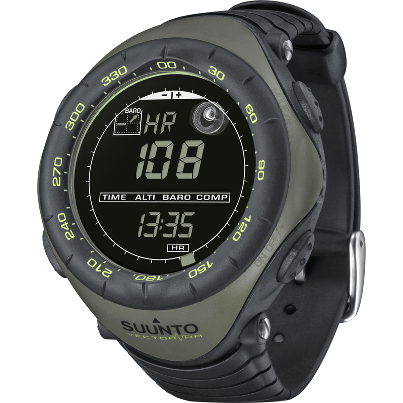 Suunto Vector HR Wristop Computer Watch | Dark Green SS018730000