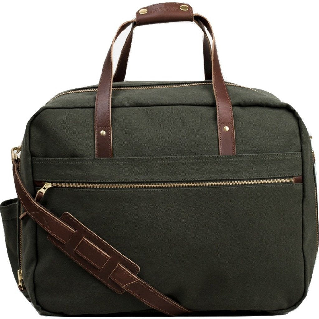 United By Blue Sycamore Overnighter Bag | Moss SYCAMORE-MS