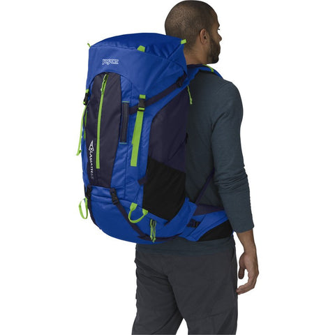 Jansport Klamath 65 Backpack | Blue Streak/Navy Moonshine