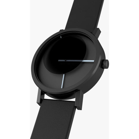 Projects Watches Tangency Watch | Black/Leather