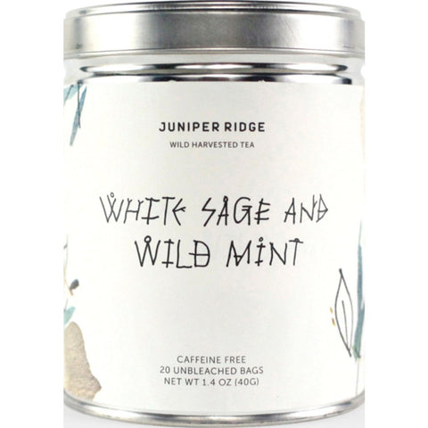 Juniper Ridge Tea | White Sage and Wild Mint