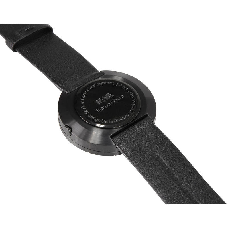 Nava Design Tempo Libero Watch | Black O420N